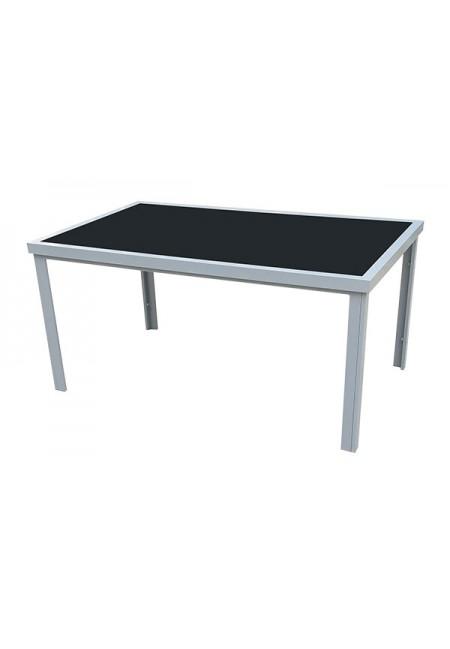 Mesa rectangular aluminio Capri 150x90x74cm