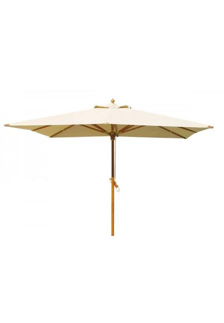 Sombrilla madera exclusive cuadrada 300x300