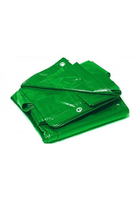 Toldo polietileno verde 120 grs. brizo 5x8 metros