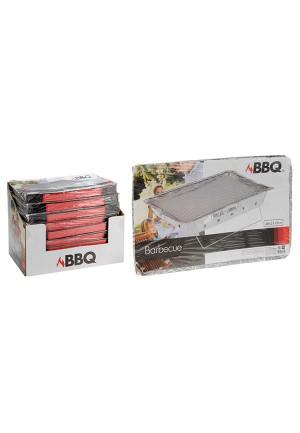 Barbacoa desechable 48x31cm (incluye carbón)