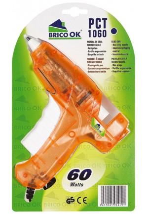 Brico Ok Pistola de cola termofusible PCT-1060