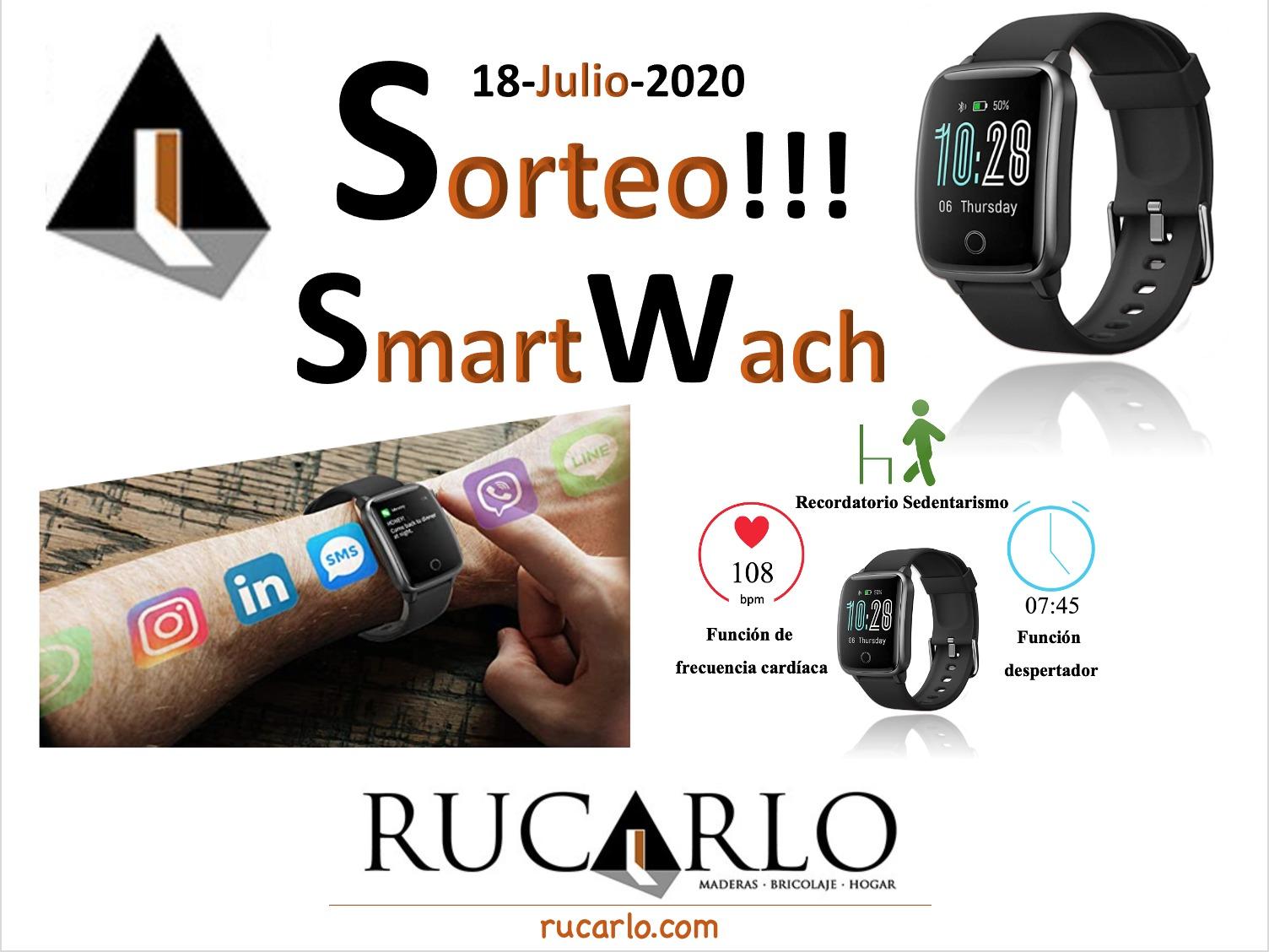 Sorteo Smart Watch